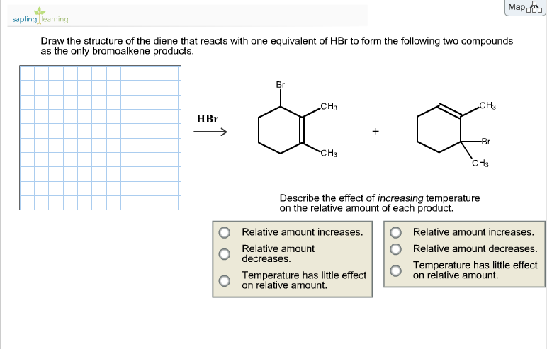 Draw the structure of the diene