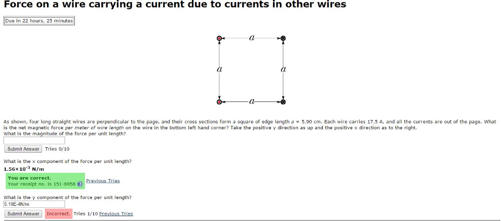 media%2F8ec%2F8ec646d0 3db8 43c8 8bae 63b5cd396fa7%2FphpbWNfbE force on a wire carrying a current due to currents chegg com the diagram shows the cross section of a wire carrying conventional positive current into the plane at bakdesigns.co