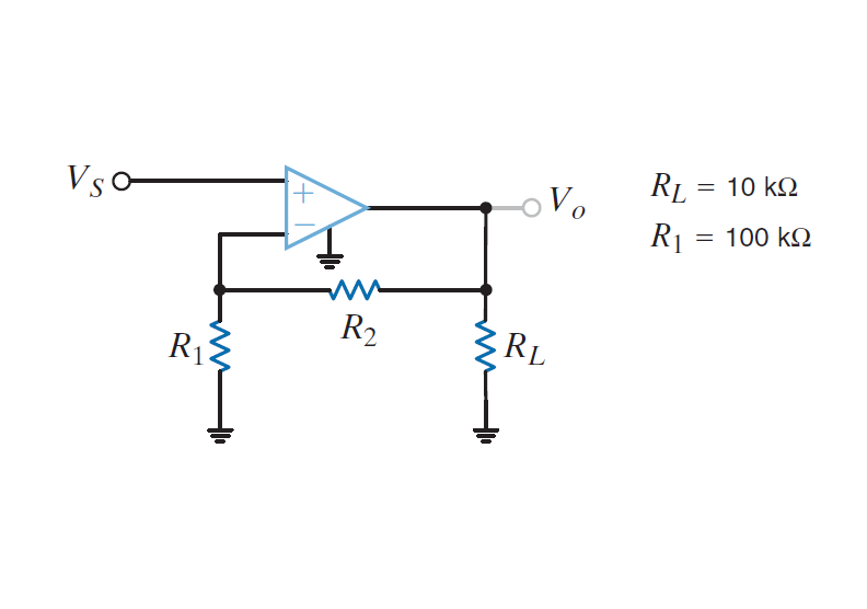For the amplifier in Fig. P4.20, the maximum val