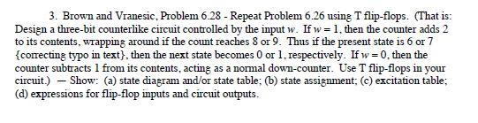 Brown and Vranesic. Problem 6.28 - Repeat Problem