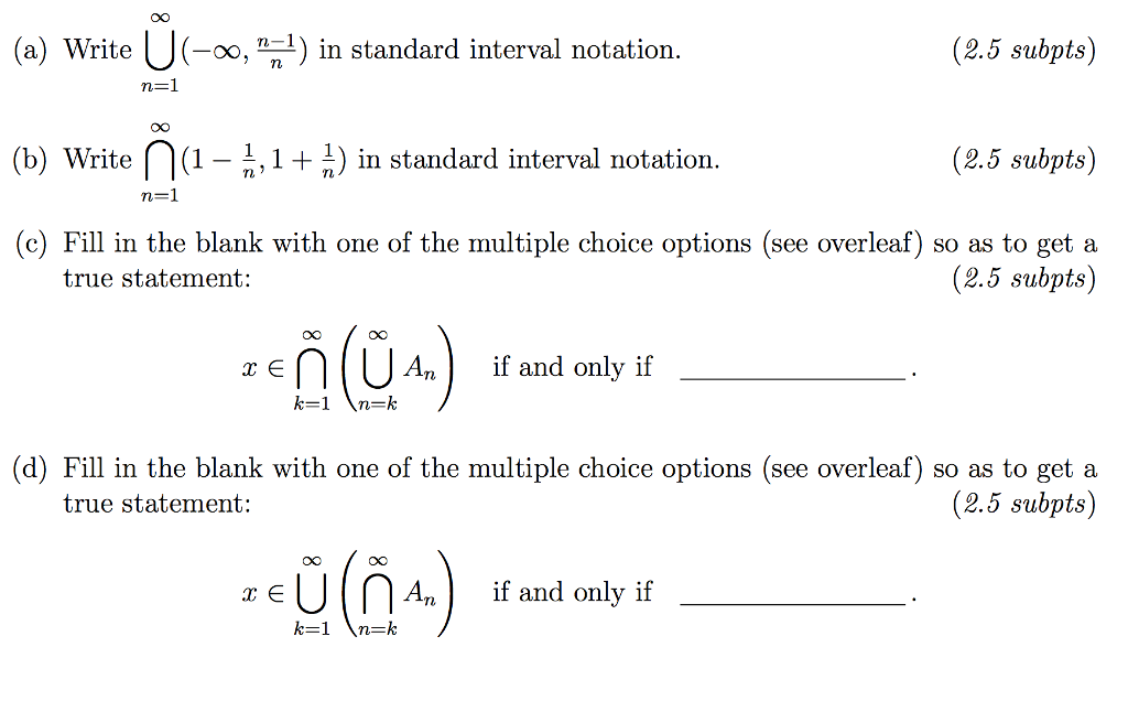 write in interval notation The third method is interval notation, in which solution sets are indicated with  parentheses or brackets  we have to write two intervals for this example.