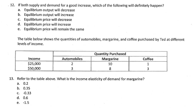 Question: 19. Assume that Qd·40-2P and Qs-2P-20. If the government limits the quantity sold to Q-8, what is...