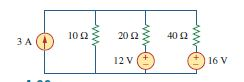 a) What is the current in the 10 ohm resister due