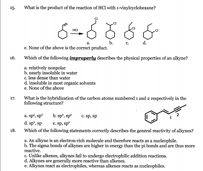properties and reactions of hydrocarbons The second and third compounds are heterocycles having aromatic properties other aromatic hydrocarbons a number of typical aromatic substitution reactions.