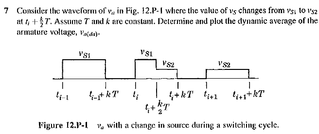 Consider the waveform of va in Fig. I2.P-1 where t