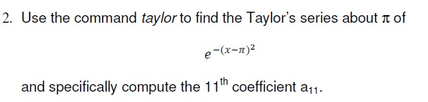how to find taylor series