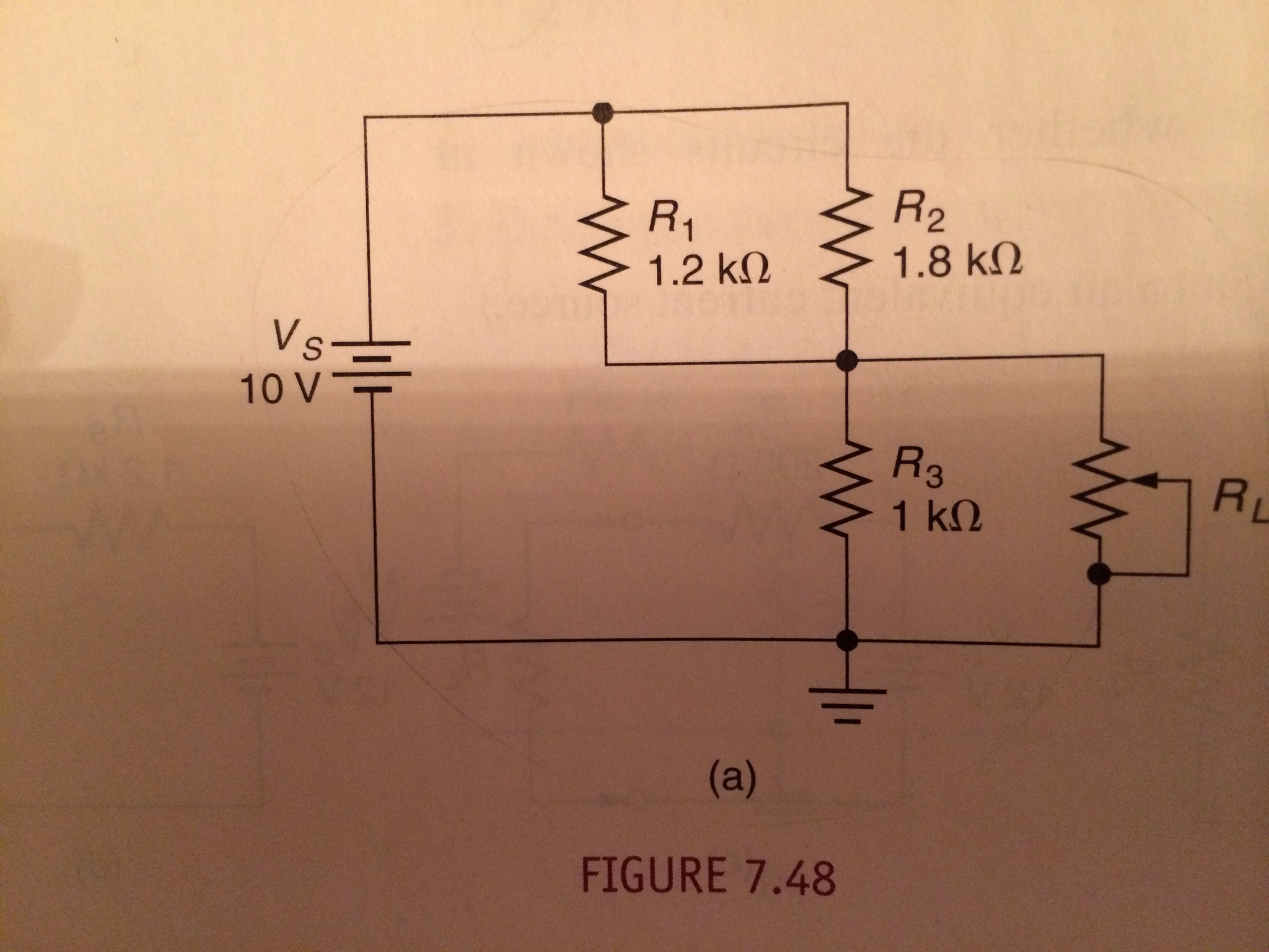 Derive the Norton equivalent for the circuit shown