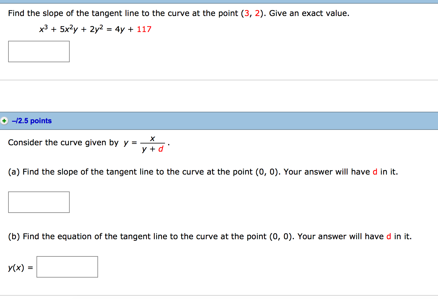 Find The Slope Of The Tangent Line To The Curve At