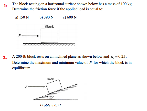how to solve for net force with friction