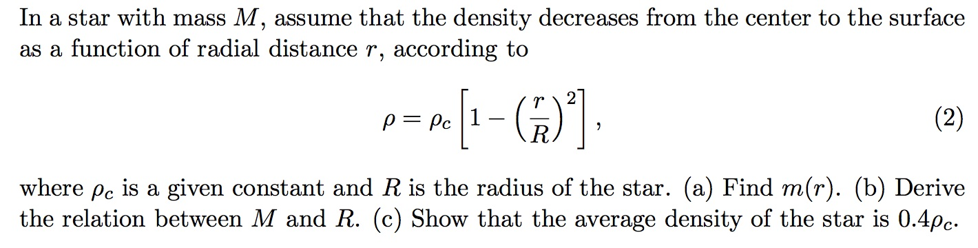 how to make a function from a physics question