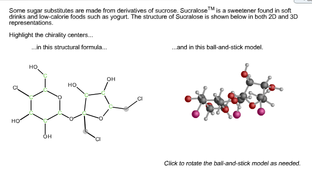 Solved: Some Sugar Substitutes - 28.6KB