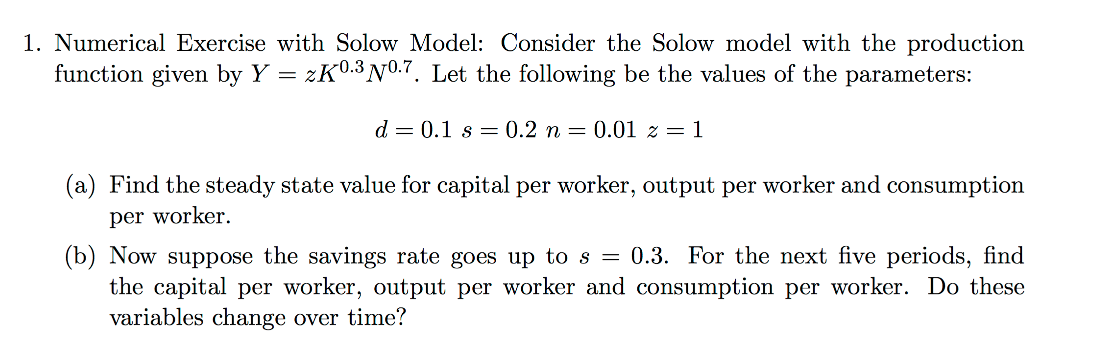 solved exercises macroeconomics Learning objectives use demand and supply to explain how equilibrium price  and quantity are determined in a market understand the concepts of surpluses.