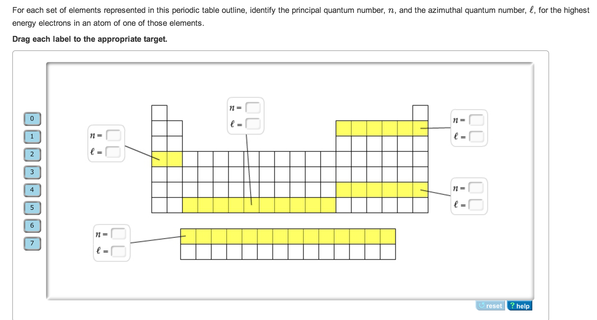 For each set of elements represented in this perio chegg question for each set of elements represented in this periodic table outline identify the principal quant gamestrikefo Images