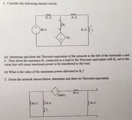 Consider the following electric circuit Determine
