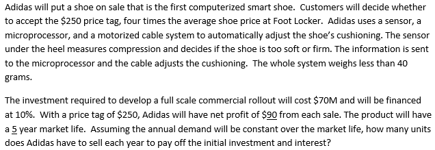 adidas capacity utilization Space matrix space matrix is a four place range of competing products resource utilization cash flow capacity utilization barriers to entry into the.