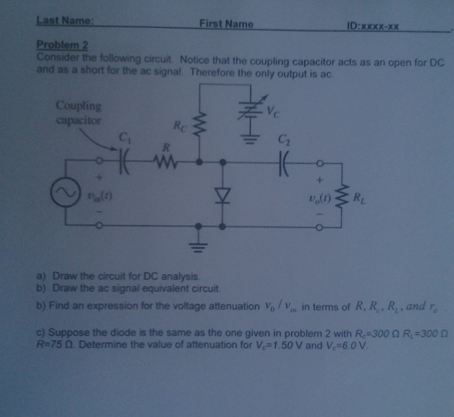 Consider the following circuit Notice that the cou