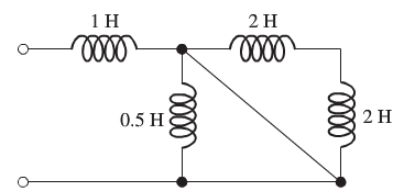 Find the equivalent inductance for the series and