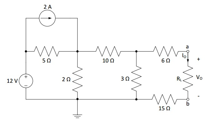 a. Find the Thevenin's voltage