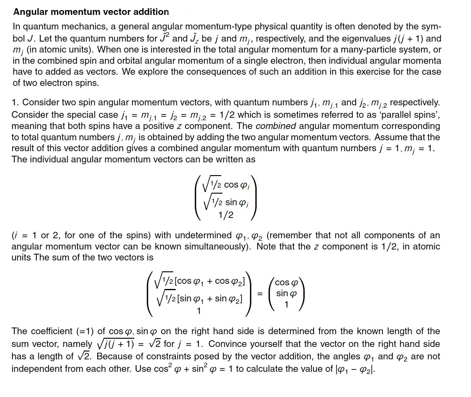 In quantum mechanics a general angular momentum t chegg in quantum mechanics a general angular momentum t buycottarizona