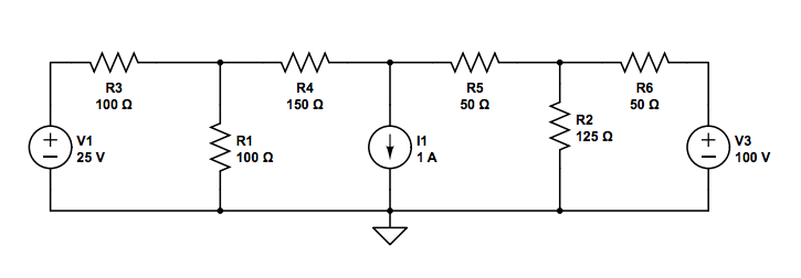 For the attached circuit, use source transformatio