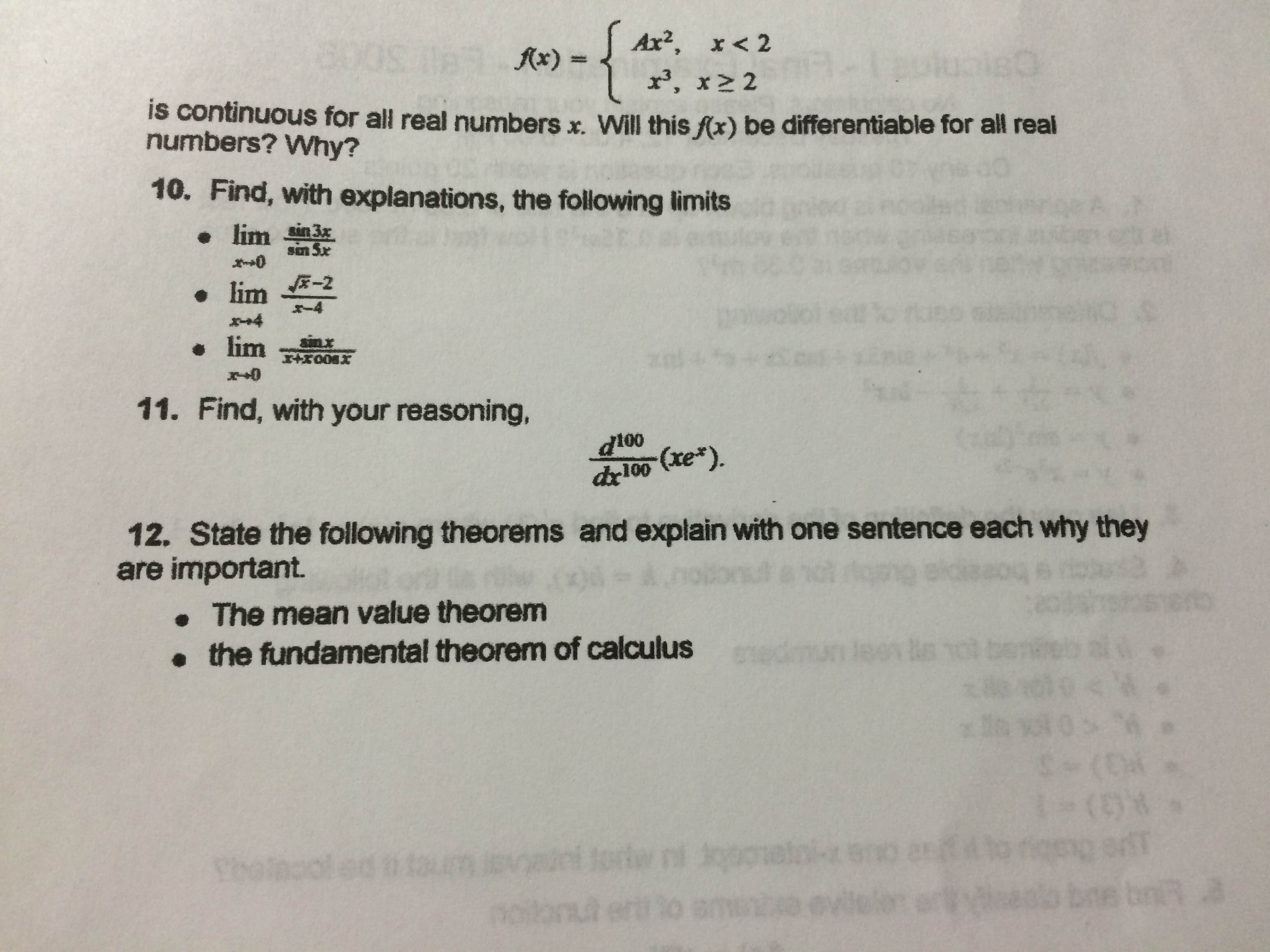 how to find all real values of x