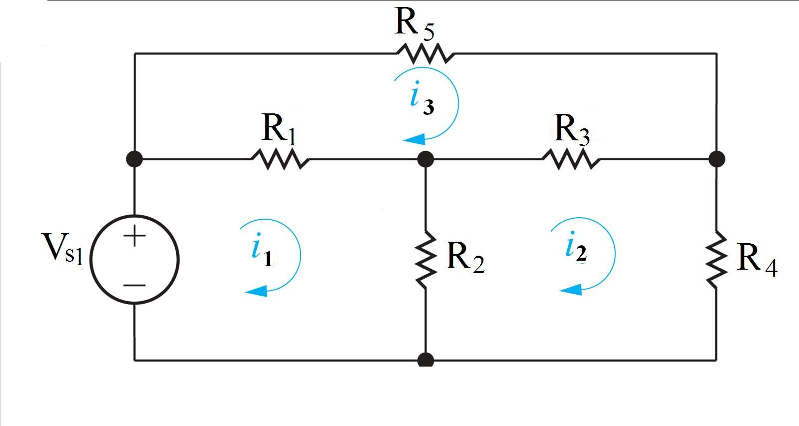 In the circuit, Vs1 = 90 V, R1 = 6 Ohm, R2 = 27