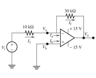 Part A: The voltage gain in the circuit. Par