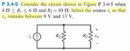 Consider thc circuit shown in Figure P 3.4-5 when