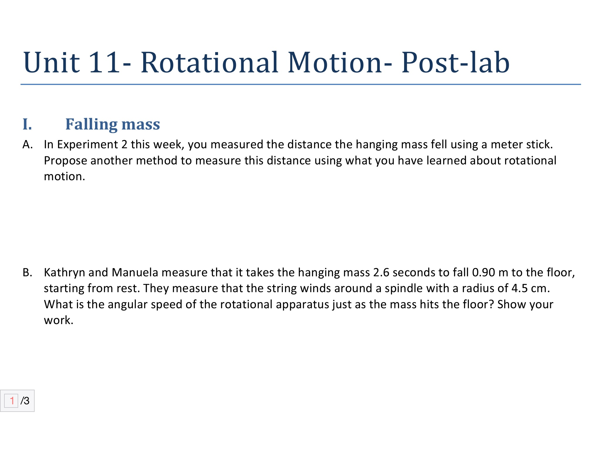 unit 1 lab question Hint 1 do not change it again for this question correct item 3 explore the interactive figure to help you with the following set of questions instructions for all parts: use the mass of ball 1 slider on the left to set the mass of ball 1 somewhere near the middle of the scale.