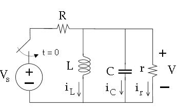 All capacitors in the circuit above are fully disc