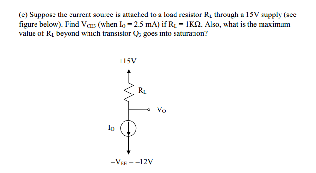 Design a Wilson current source to give an output c