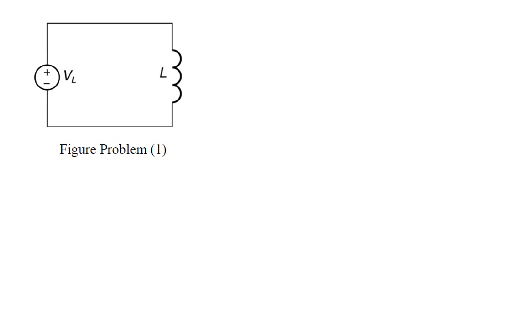 Problem (1) For the circuit shown in Figure