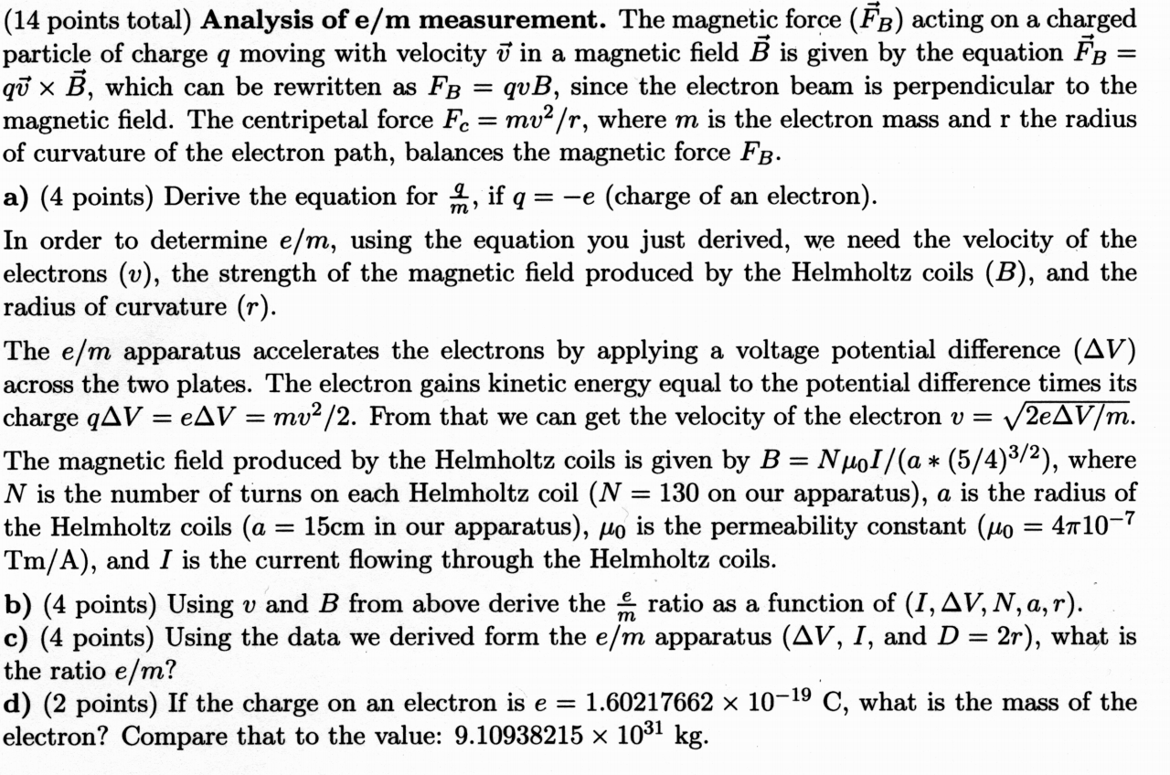 an analysis of the measurement of velocity and mass We present an analysis of the publicly available harps radial velocity (rv) measurements for 2011) a different analysis may produce a revised mass for.