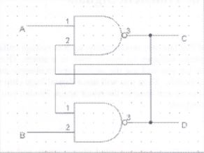 What is the truth table for this logic diagram? If
