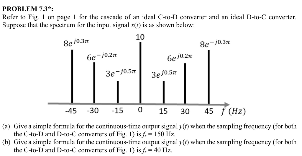 Problem 73 refer to fig 1 on page 1 for the cas chegg 1 on page 1 for the cascade of an sciox Gallery