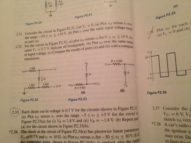 Consider the circuit in Figure P2.31. Let V gamma