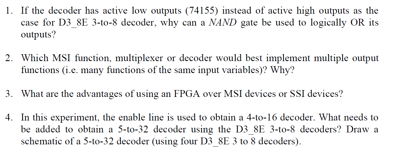 If the decoder has active low outputs (74155) inst