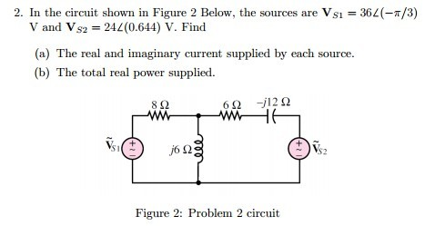 In the circuit shown in Figure 2 Below, the source