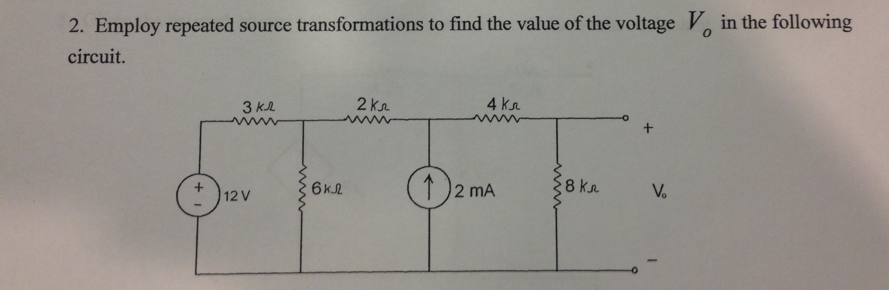 Employ repeated source transformations to find the