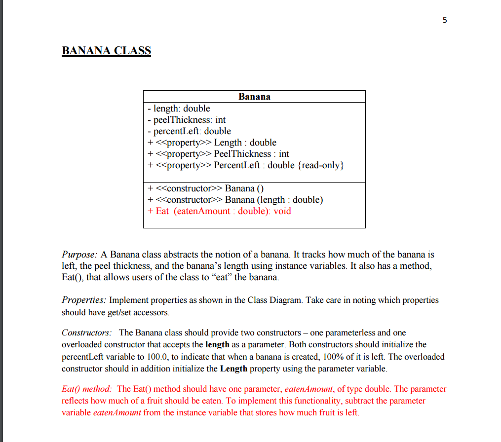 Solved instructions project name a6 classes picnicsyste note regarding uml notation in uml the symbol is used to denote the private access modifier and symbol denotes the public access modifier in c buycottarizona Image collections