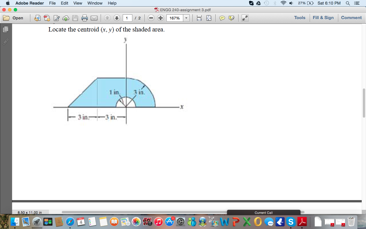 how to find centroid of an area