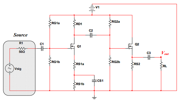 Transistor: VN2222LL Assume LAMBDA = 0. In the des