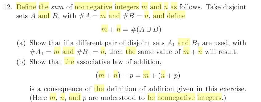 Non negative Integers | Infinite-Math.com - YouTube