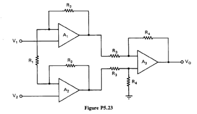 (Instrumentation amplifier with high input impedan