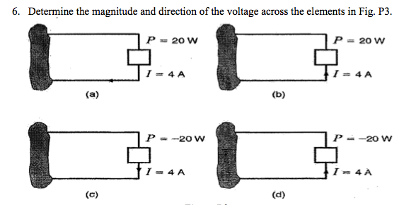 Determine the magnitude and direction of the volta