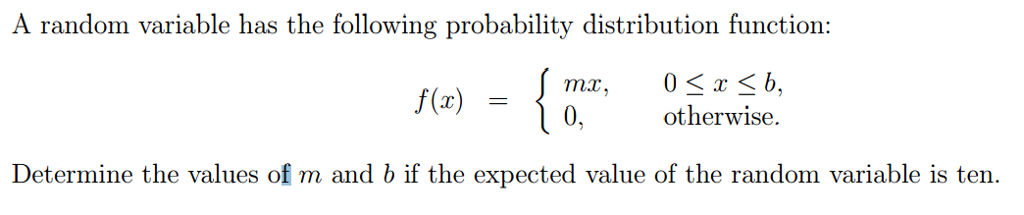 random variable and answer Mcq's of ch8 random variable and probability distributions of saleem akhtar for ics1 complete mcq 71 if in a table all possible values of a random variable are given their corresponding probabilities, then this table is called as: (a) probability density function (b) distribution function.