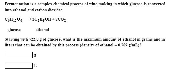Fermentation is a complex chemical process of wine