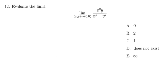 how to solve 0 0 limits