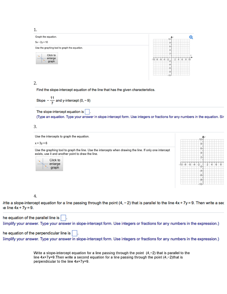 Graph the equation 5x 2y 10 use the graphing chegg graph the equation 5x 2y 10 use the graphing tool to graph the falaconquin
