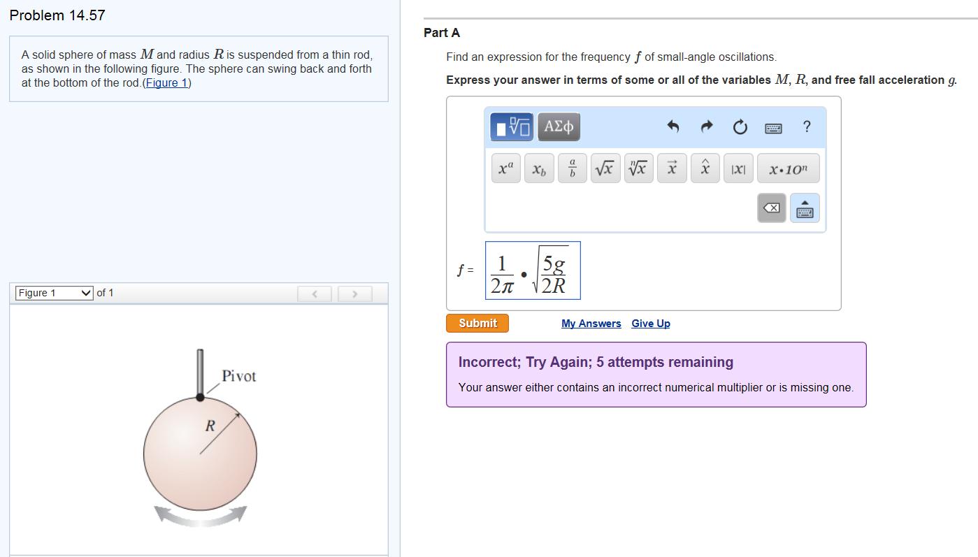 how to solve radius problems